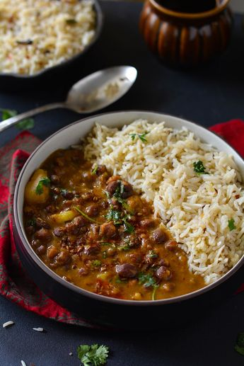 How To Make Kala Chana Masala Curry whole bengal gram and tomato curry A very healthy and delicious punjabi special kala chana curry cooked with tomatoes and basic Indian spices- a Punjabi specialty-No onion and garlic recipe