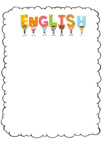 List Of Caratulas Escolares Para Imprimir De Ingles Pictures