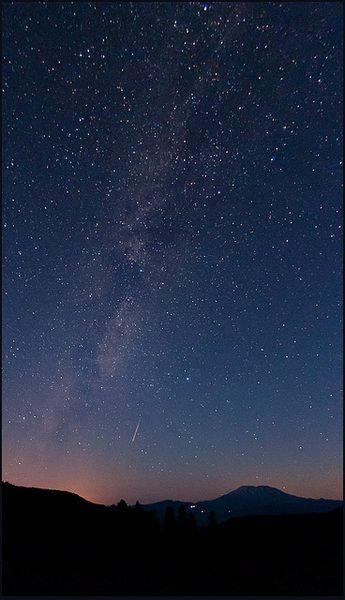 McClellan Viewpoint • Perseid Meteor • 2010