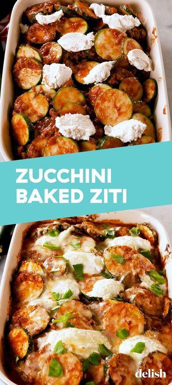 """Zucchini Baked """"Ziti"""" Doesn't Involve Any Pasta"""