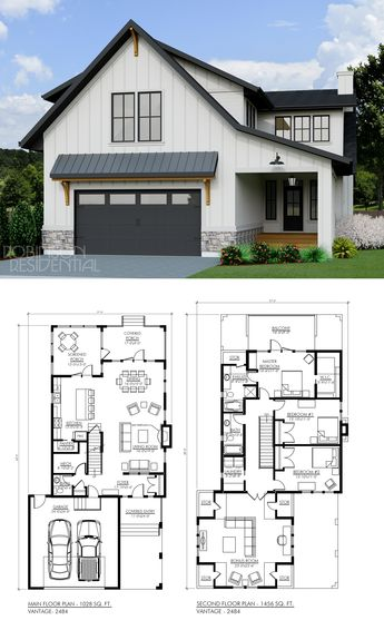 Modern Farmhouse Vantage-2484
