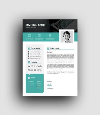 Lexington Premium Professional Resume Template - Graphic Templates