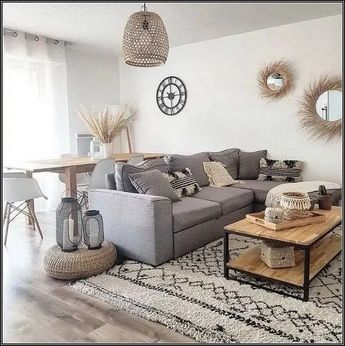 140+ best small living room ideas with scandinavian style 16