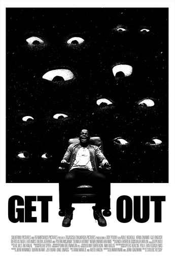 Get Out by Kevin Carter  . . . #poster #design #graphicdesign #movie #GetOut #kevincarter