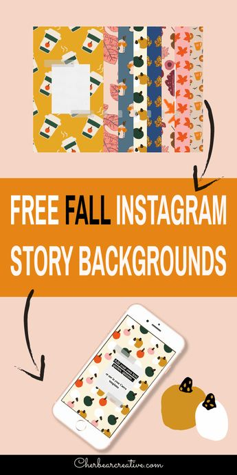 Free Fall Instagram Story Backgrounds - Cherbear Creative