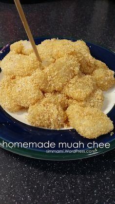 Homemade muah chee