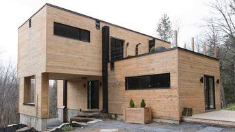 Une première maison conteneur écologique