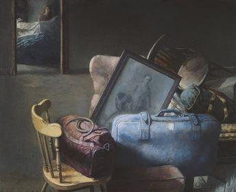 Cristóbal Toral - Habitación con retrato