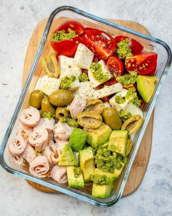 No-Cook Cold Lunch Boxes 4 Ways for Clean Eating