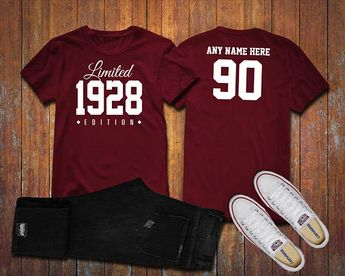 1928 Limited Edition 90th Birthday Party Shirt 90 Years Old