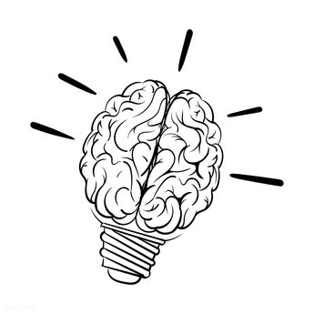 Download premium vector of Hand drawn lightbulb creative ideas 322114