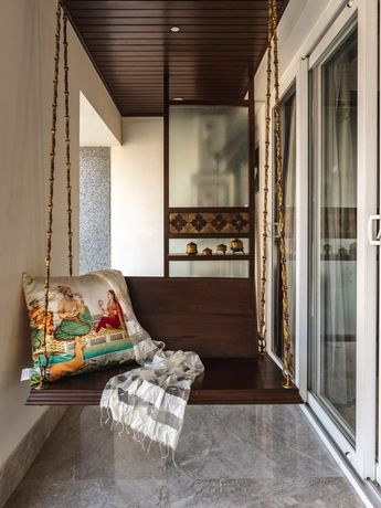 3BHK Traditional Styled Abode |RUST the design studio - The Architects Diary