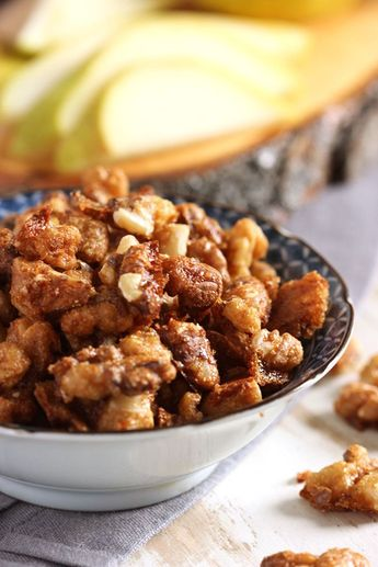Easy Candied Walnuts