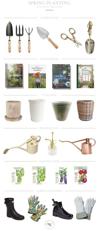 Spring Planting Must Haves