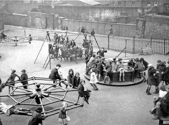 How playgrounds used to be