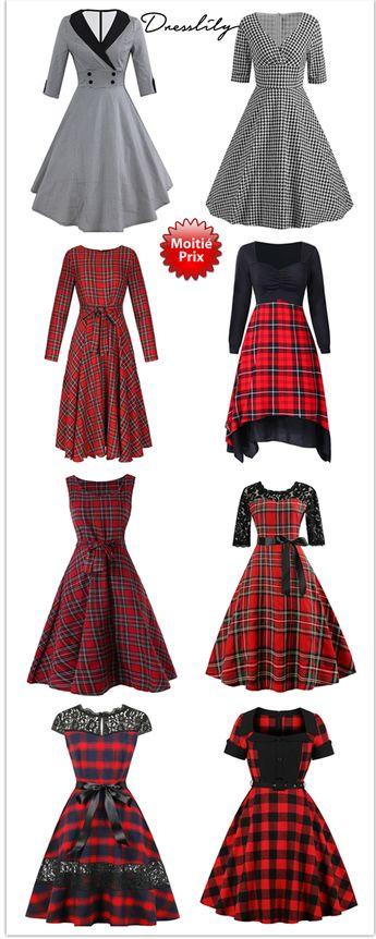 Acheter une robe de nouvel an chic en combinant les valeurs classiques et les tendances actuelles! #dresslily #femme #robe #dress