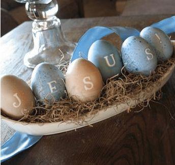 Páscoa - 26 Ideias de decoração para sua casa