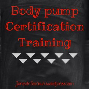 Body Pump Certification Training