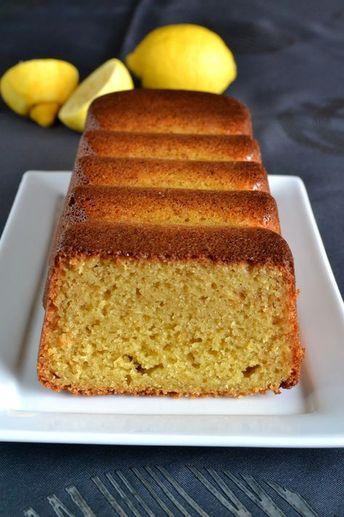Cake citron-miel à la crème fraîche