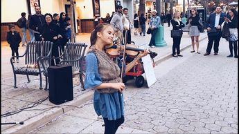 Can't Help Falling In Love - Elvis Presley - Violin - Karolina Protsenko - YouTube