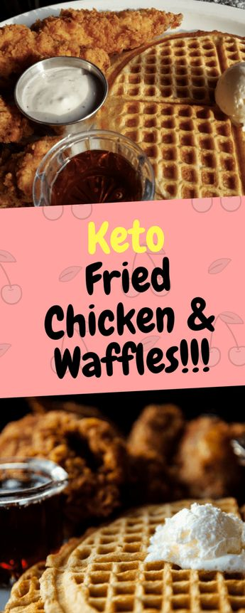 Keto Fried Chicken & Waffles - 10Recipes10 | 10Recipes10