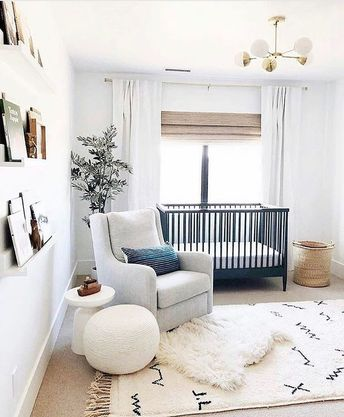 """Destination Nursery on Instagram: """"YOUR most liked Nursery for 2018!! sophisticated spaces that blend into the design + style of your HOME...♥️ this is our favorite too…"""""""