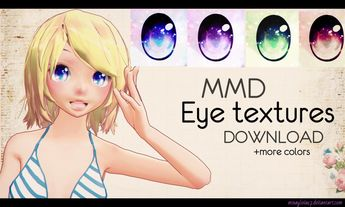 MMD Eyes texture [2] DL