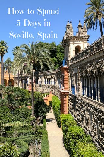 We share the highlights of how to spend five days in Seville, including local historical sites and day trips out of the city. #TBIN