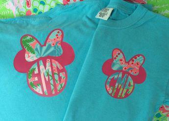 Disney Mickey / Minne Lilly Pulitzer by SimplyChicMonograms