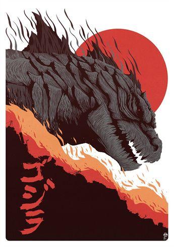 Godzilla by Jean-Baptiste Roux