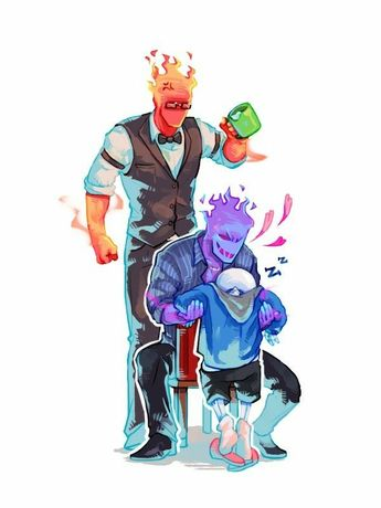 List of attractive underfell grillby x frisk ideas and photos | Thpix