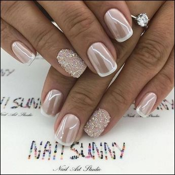 142 top class bridal nail art design for spring inspiration page 16