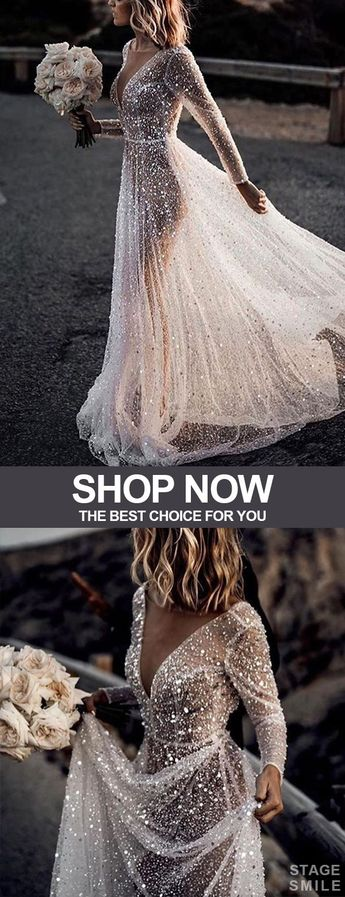 Women's Elegant Pure Color See-Through Hot Drilling Evening Dress
