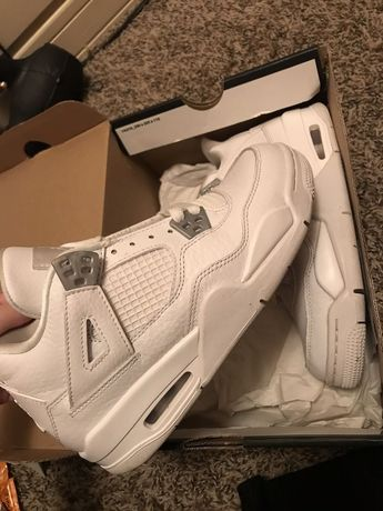 san francisco a4e70 358dc Air Jordan Retro 4 Pure Money Grade School  fashion  clothing  shoes   accessories