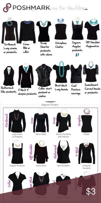 """Necklace Guide """"Cheet Sheet"""" NWT"""