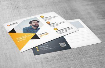 Elegant Postcard Design 002791 - Template Catalog