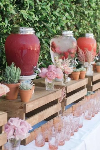 Perfect wedding cocktail table decoration ideas for your big day 00034 ~ gcan.net