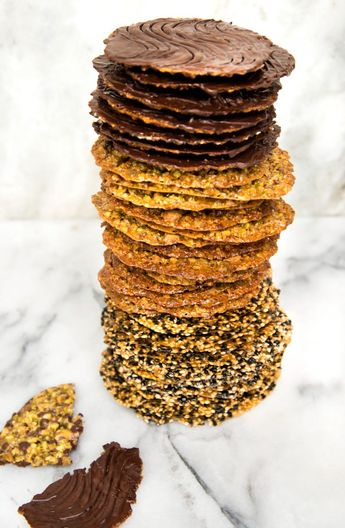 Florentine Lace Cookies: Extra Fancy. Easy to Bake!