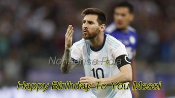 Happy 32nd birthday to Lionel Messi | The greatest footballer of all time 2019 | Nonsense Pola