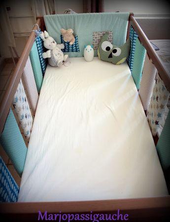 marjo pas si gauche !: Tuto protections pour lit à barreaux d'enfant