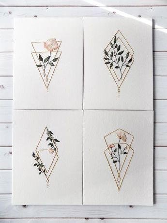 Bundle hand embroidery pattern PDF / Serenity collection / by StitchFloral / embroidery tutorial, digital download