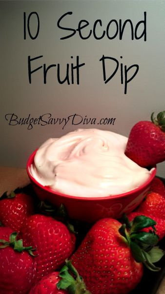 10 Second Fruit Dip