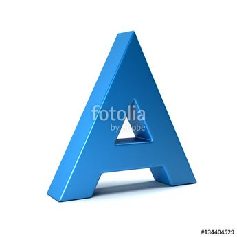"""""""A Letter Icon . 3D Render Illustration"""" Stock photo and royalty-free images on Fotolia.com - Pic 134404529"""