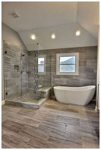 34 Fancy Master Bathroom Design Ideas For Amazing Home