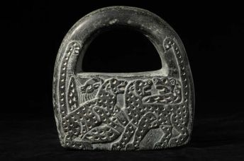 Chlorite Lock Weight - LO.1288 Origin: Near East Circa: 3000 BC to 2000 BC