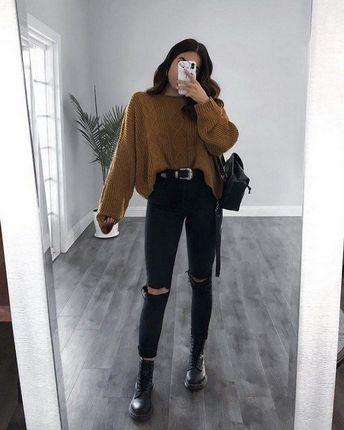 68+ super cute fall outfits ideas 13