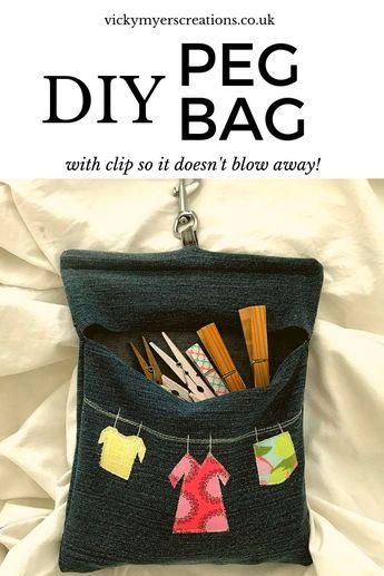 Denim Peg Bag Pattern