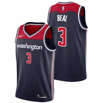 Men 3 Bradley Beal Jersey Black Washington Wizards Swingman Fanatics 820197631