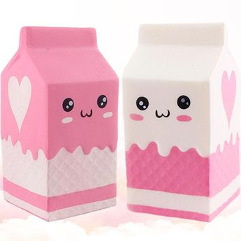 Squishy milk bottle - Free shipping  Vendor: A to Z Toy Store Type: Gags & Practical Jokes Price: 9.99  Cute and lovely squishy milk bottle that comes in two colours. Excellent compliment for the collection of pretend play. Children love to have a milk bottle to squeeze and they have lots of fun pretending they are pouring milk to prepare a meal to drink or to simply squeeze it. The squishy milk bottle is really cute and a very interactive way for children to ad to their collection of pretending