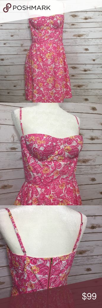 b171f60c220873 {Lilly Pulitzer} Georgie Dress in Chum Bucket NWT and ready for your beach  vacation